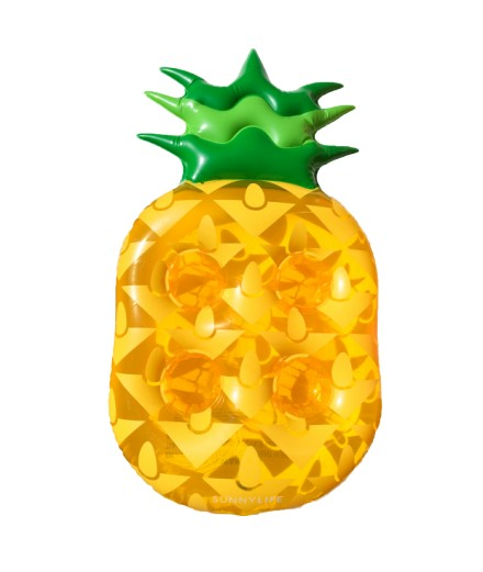 Plateau gonflable Ananas