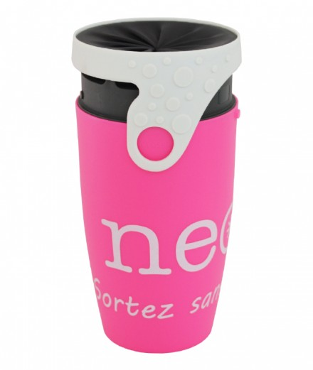 TWIZZ neolid rose ouvert